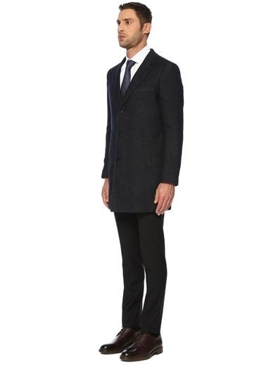 NetWork NetWork 1072015 Slim Fit Lacivert Palto Erkek Palto Lacivert